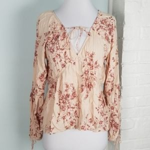 NWT American Rag Ballet pink blouse